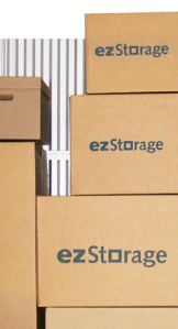 ezStorage offers packing supplies.