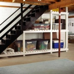 Under stairs storage options