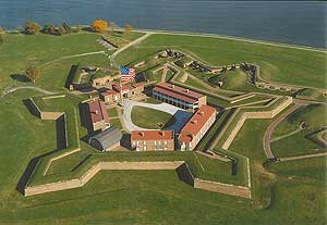 Fort McHenry. Photo courtesy of scienceviews.com.