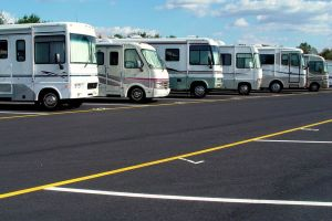 RV parking at ezStorage