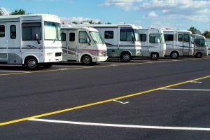 RV parking at ezStorage