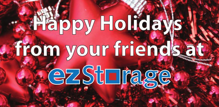 Happy Holidays from ezStorage