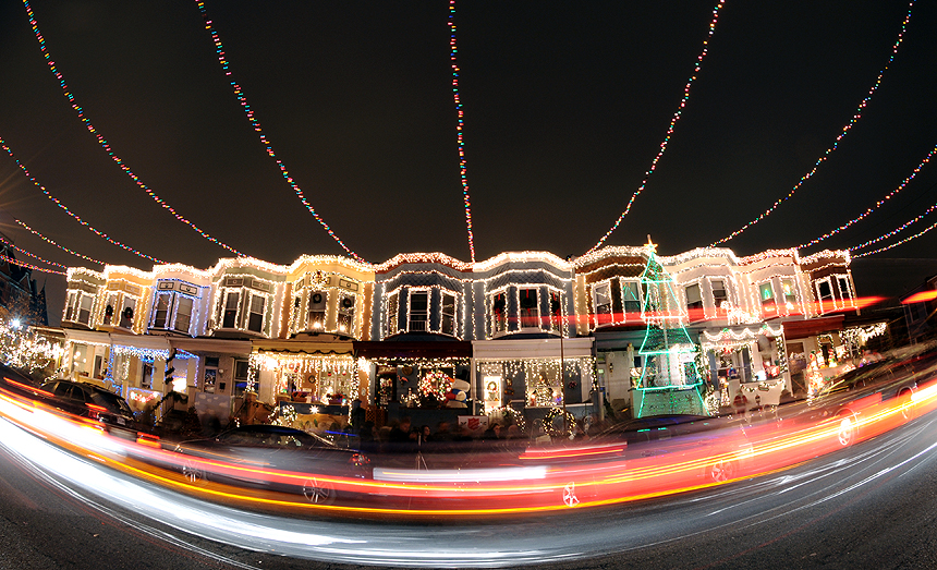 miracle on 34th street baltimore - Christmas Light Houses