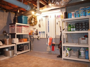 Basement Storage Tips