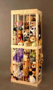 Great Organization Idea for Stuffed Animals