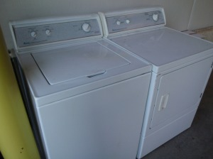 Tips for Moving and Storing a Washer and Dryer