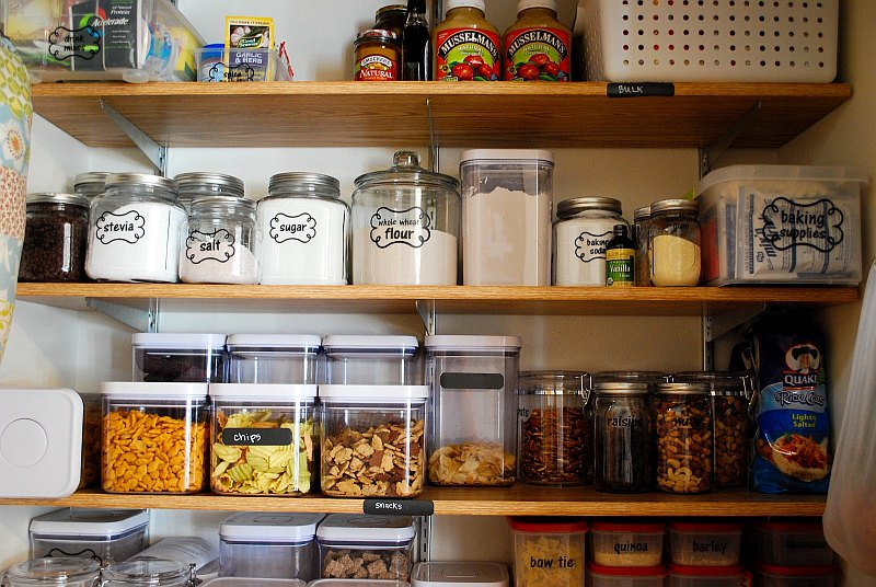 kitchen pantry organization tips organizing the kitchen - Kitchen Pantry Organizers
